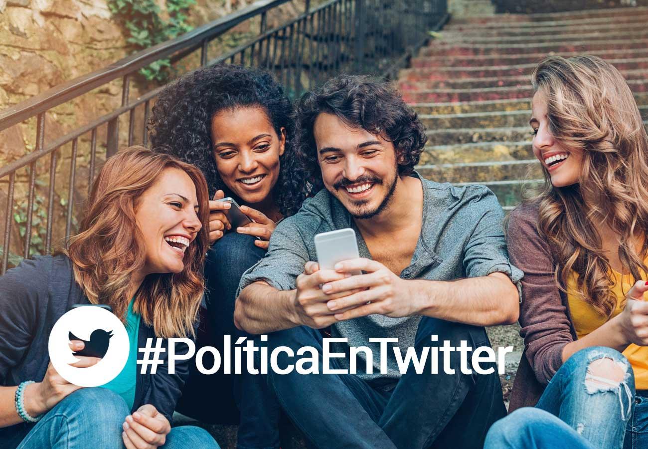 Twitter, la red social donde la información política tiene mayor relevancia