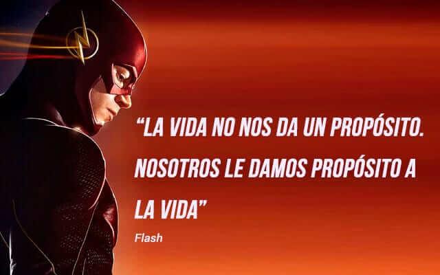 frases de superheroes de motivacion - frases de flash