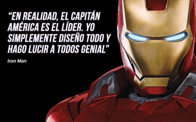 frases de superheroes de motivacion - frases de iron man