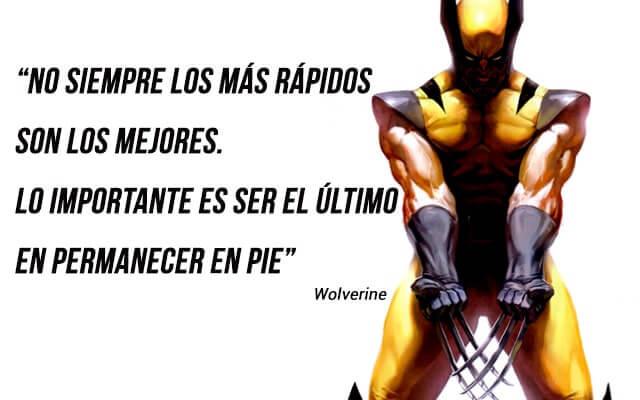 frases de superheroes de motivacion - frases de wolverine