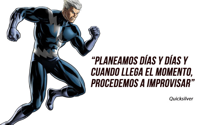 frases de superheroes de motivacion - frases de quicksilver