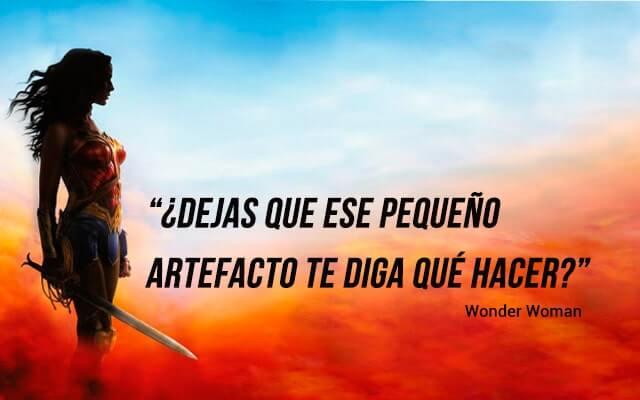 Frases de superheroes - frases de motivacion de wonder woman