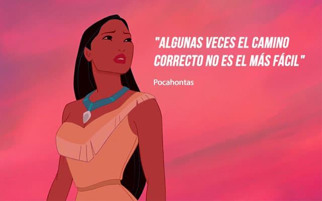 lecciones de Pocahontas