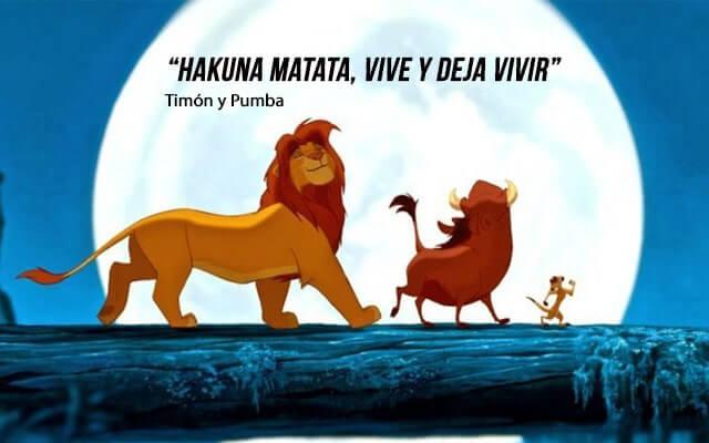 lecciones de vida de el rey leon