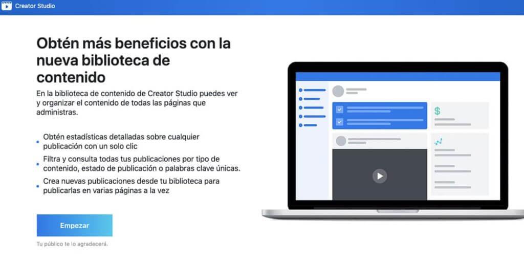 que es Creator Studio