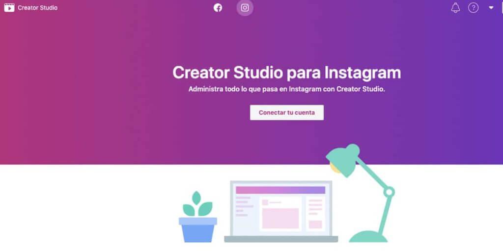 Como programar instagram desde facebook creator studio