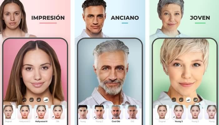 riesgos de utilizar faceapp