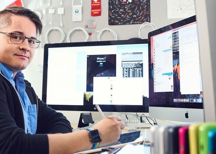 trabajar en Apple desde casa