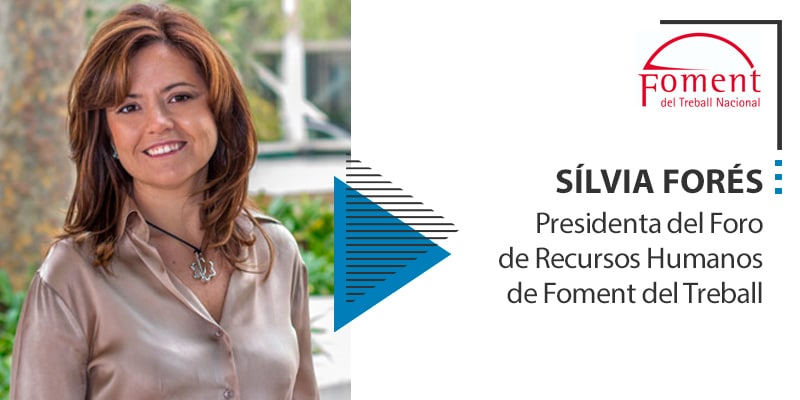 silvia fores presidenta foro recursos humanos foment treball