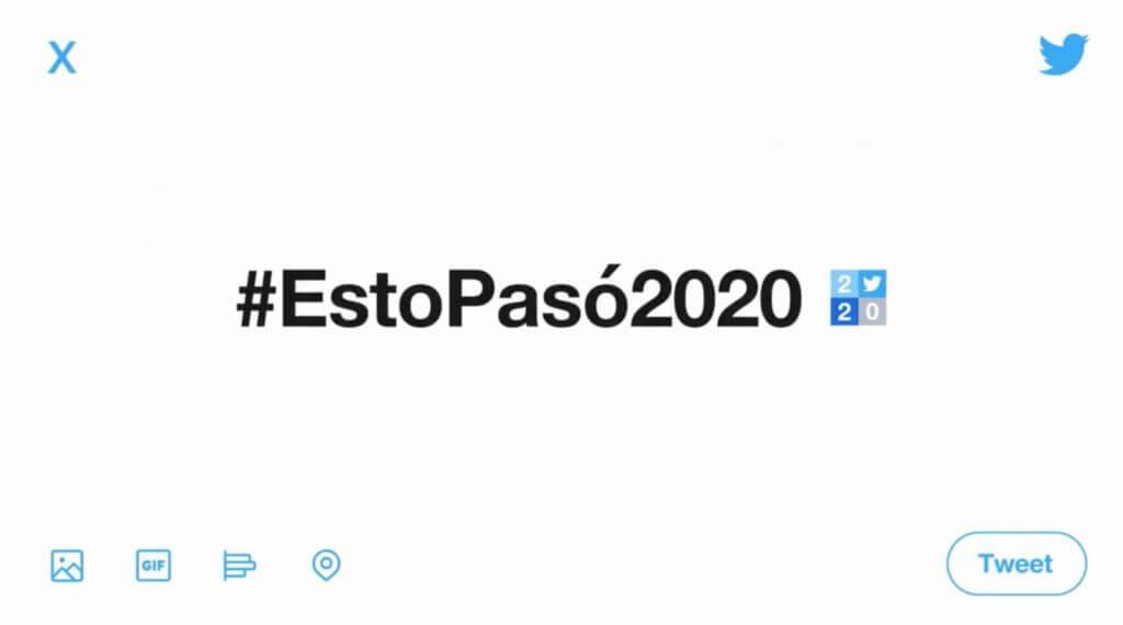 esto paso en twitter en 2020