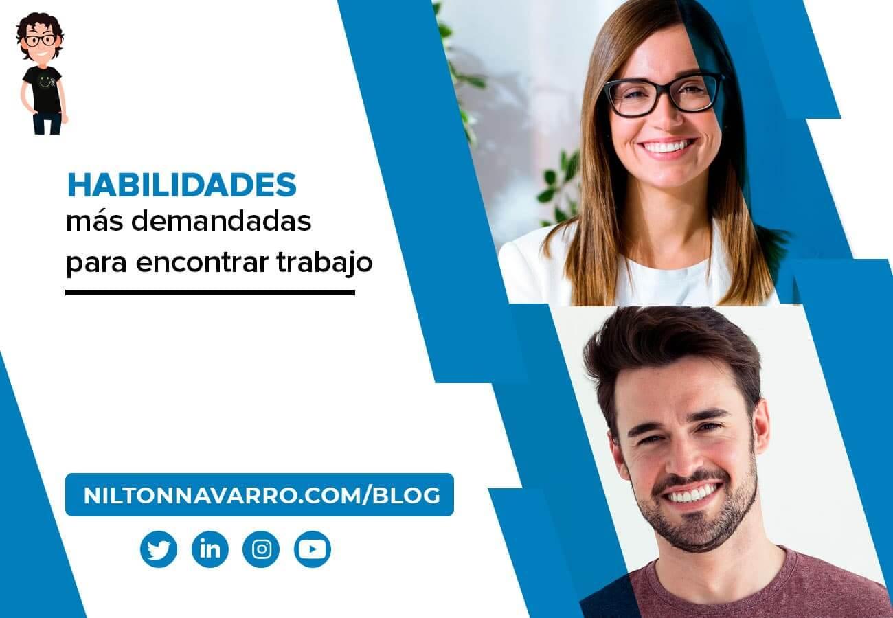 Nilton Navarro - Las 10 habilidades más demandadas para encontrar trabajo en 2021