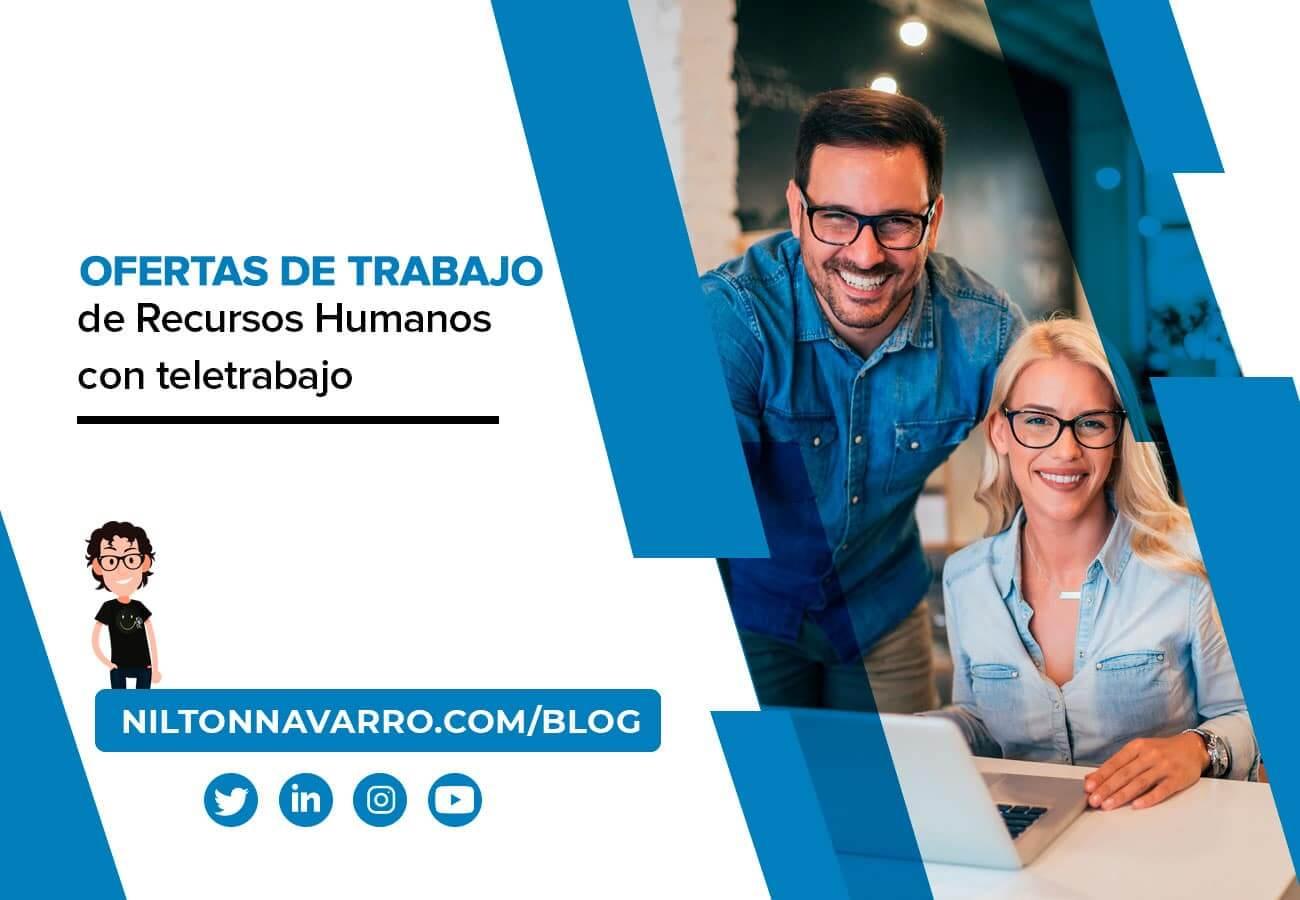 Nilton Navarro - Las mejores ofertas de empleo de Recursos Humanos en España