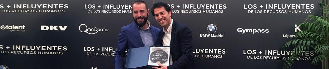 Nilton Navarro - Premio el mas influencer de los recursos humanos
