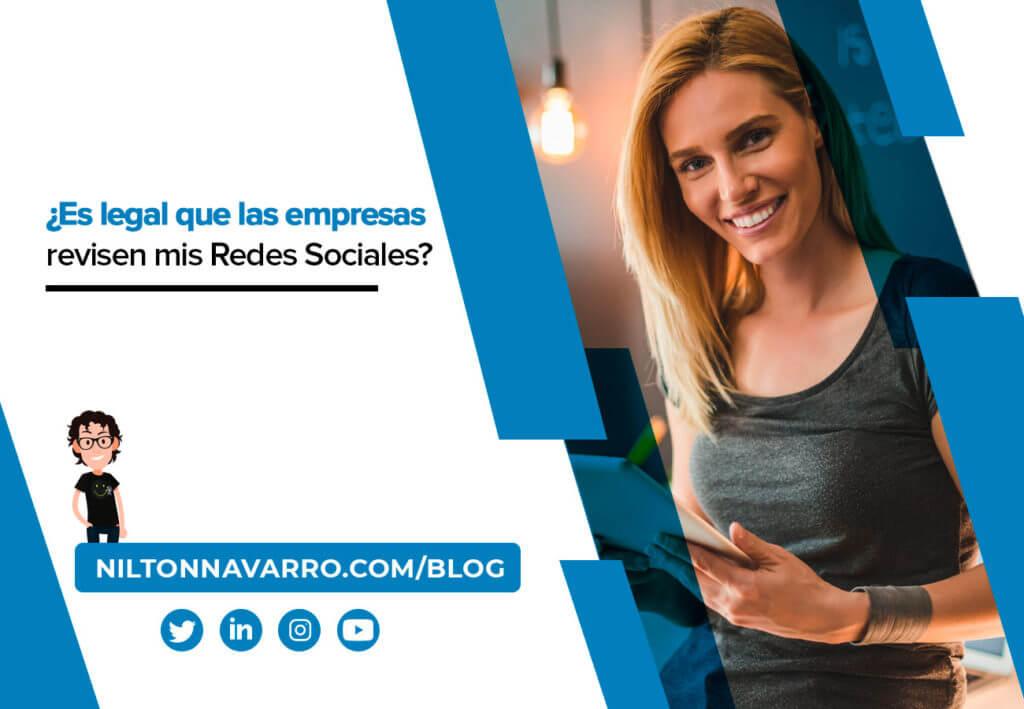 es legal que las empresas revisen mis redes sociales