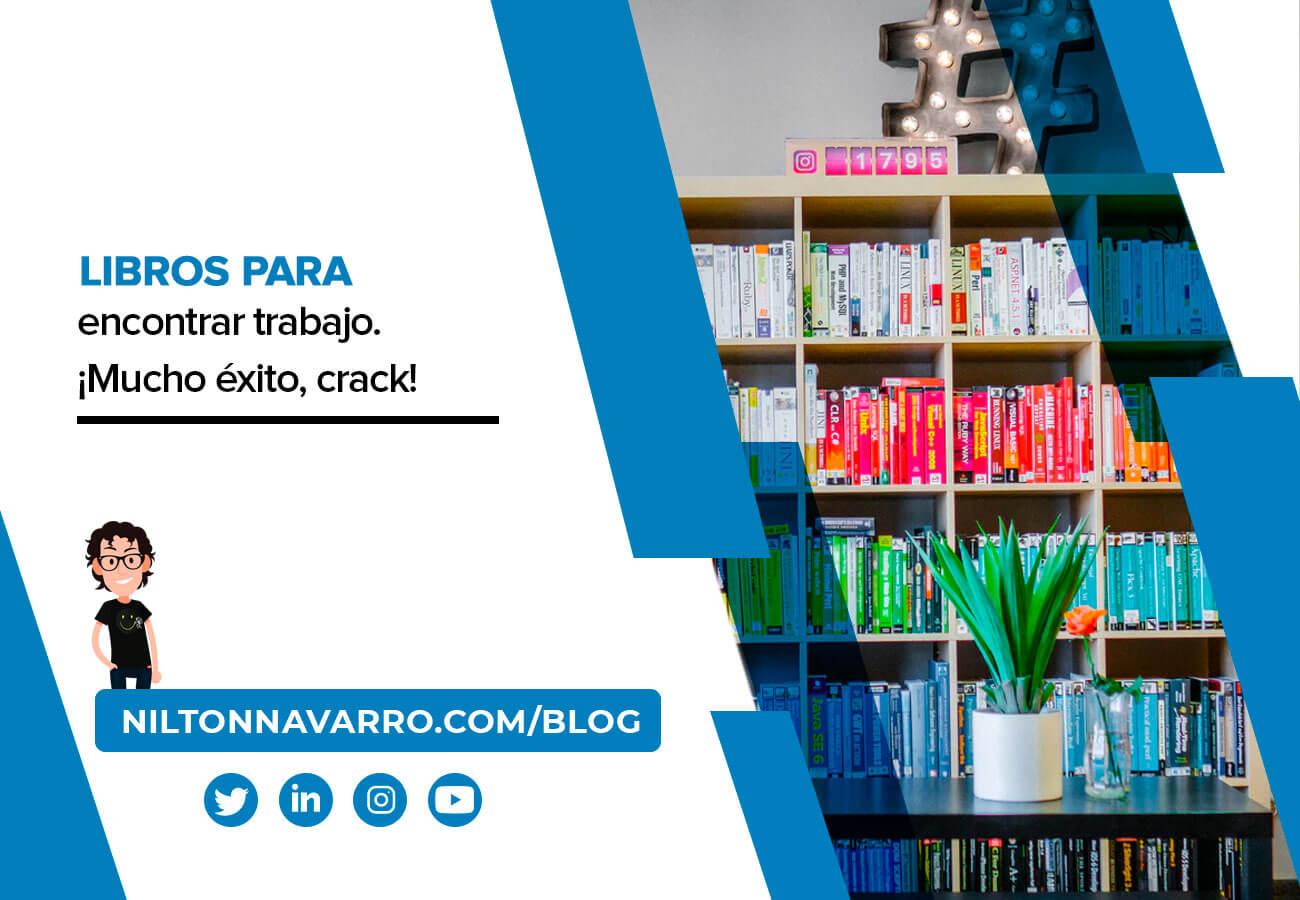 Nilton Navarro - Libros que te ayudarán a encontrar trabajo