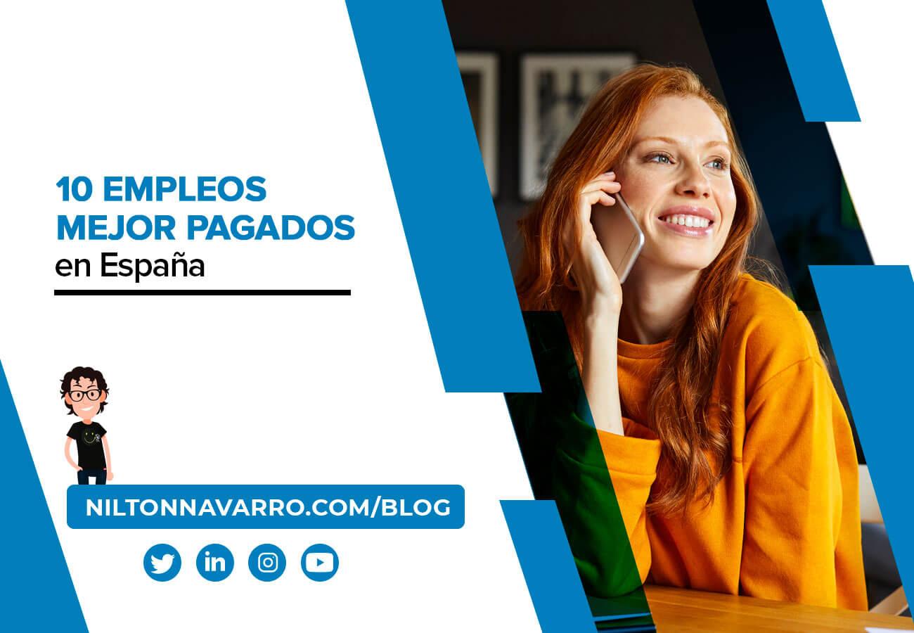 Nilton Navarro - Los empleos mejor pagados en España