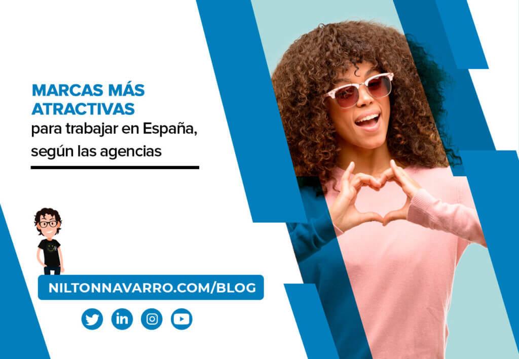 marcas mas atractivas para trabajar en espana