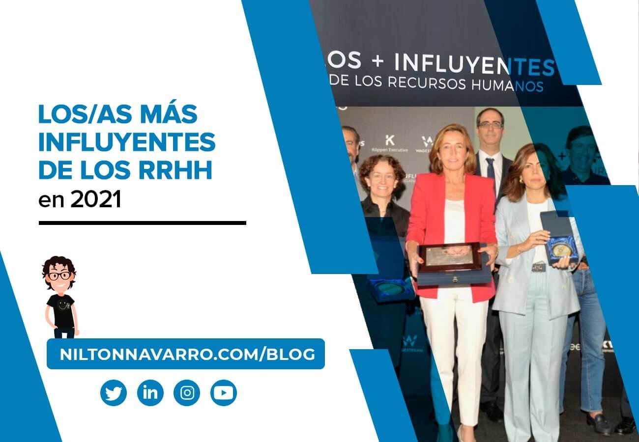 Nilton Navarro - Los/as más Influyentes de los Recursos Humanos de 2021