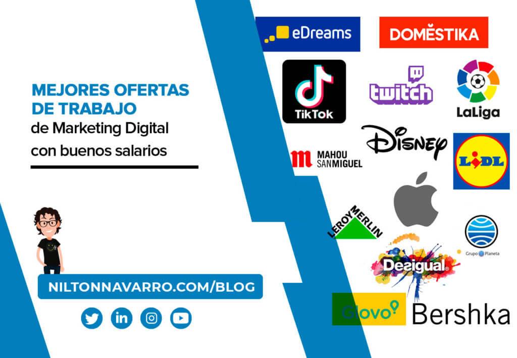 ofertas de trabajo de marketing digital en madrid