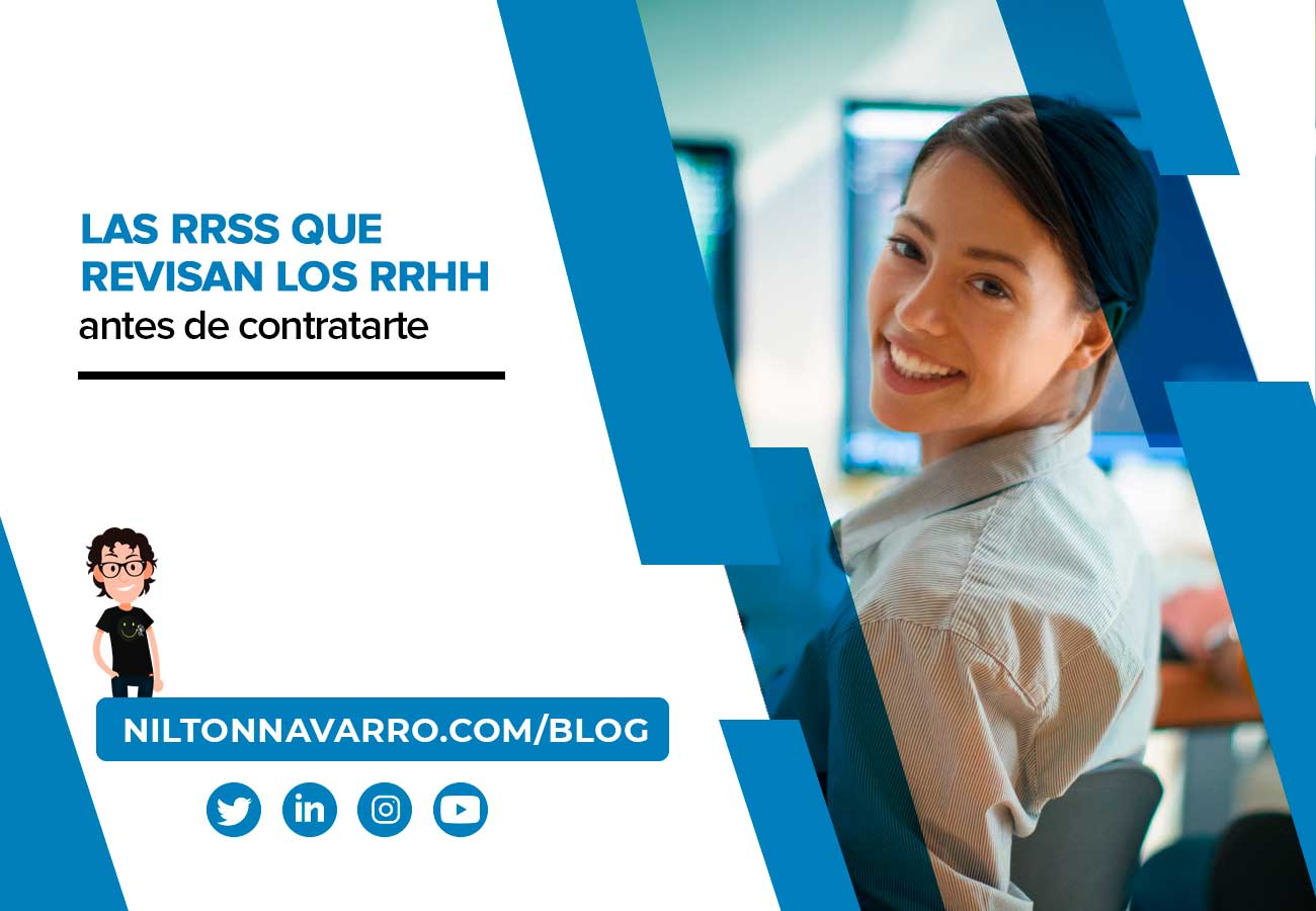 Nilton Navarro - 1 de cada 2 empresas revisa tu perfil de Instagram antes de contratarte