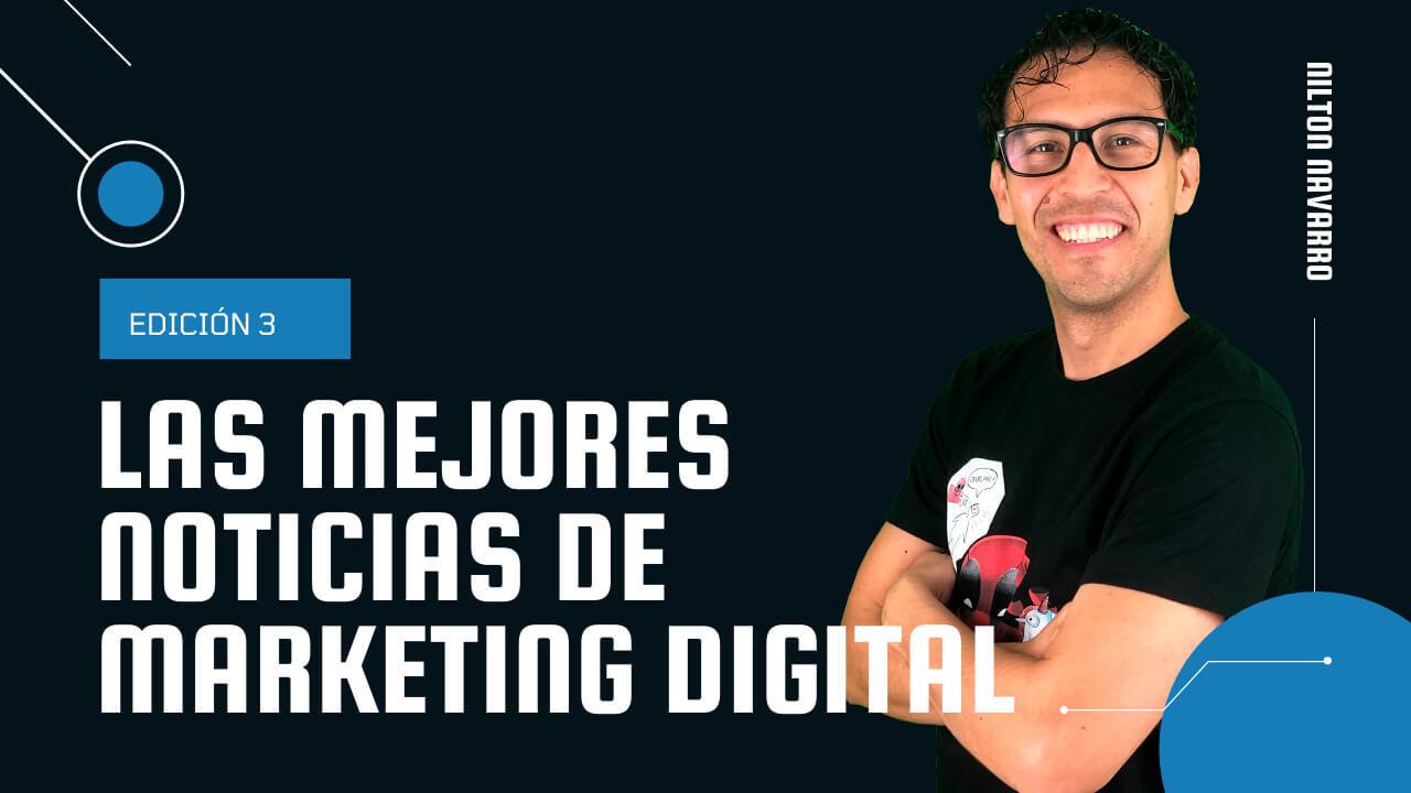 Nilton Navarro - Noticias y ofertas de trabajo de Marketing Digital | 3ª Edición